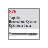 875 - Cylindre, à biseau