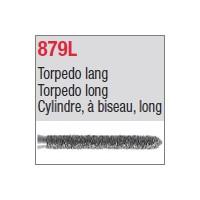 879L - Cylindre, à biseau, long