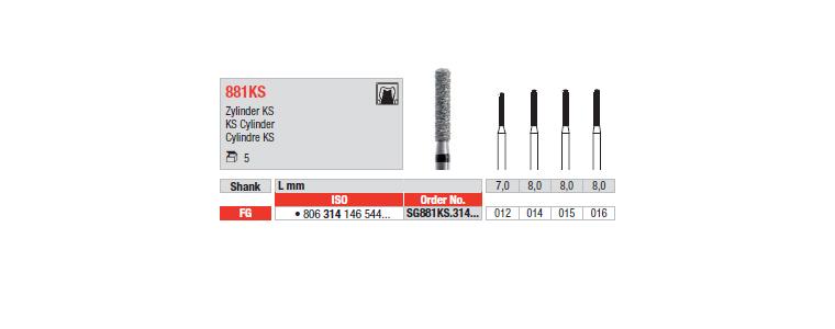 881KS - Cylindre KS