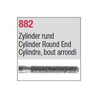 882 - Cylindre, bout arrondi