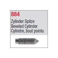 884 - Cylindre, bout pointu