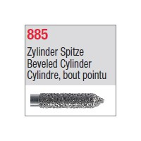 885 - Cylindre, bout pointu