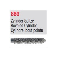 886 - Cylindre, bout pointu