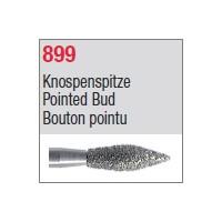 899 - Bouton pointu