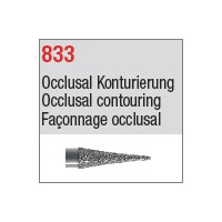 833 - Façonnage occlusal