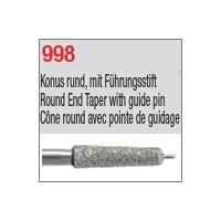 998 - Cône round avec pointe de guidage