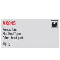 AX845 - cône, bout plat