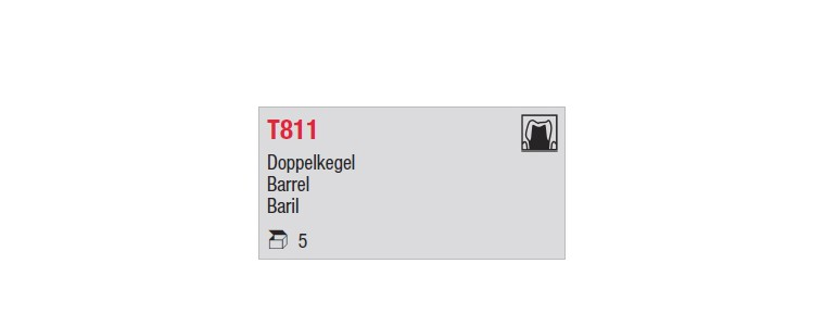 T811 - baril