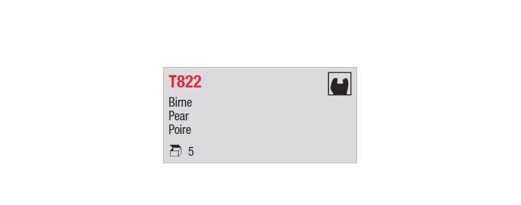 T822 - poire