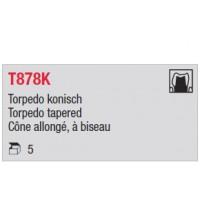 T878K - cône moyen, à biseau
