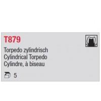 T879 - cylindre moyen, à biseau