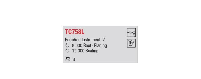 TC758L - bouton long