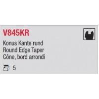 V845KR - Cône, bord arrondi
