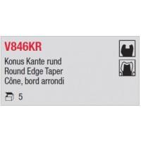 V846KR - Cône, bord arrondi