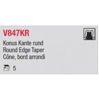 V847KR - Cône, bord arrondi