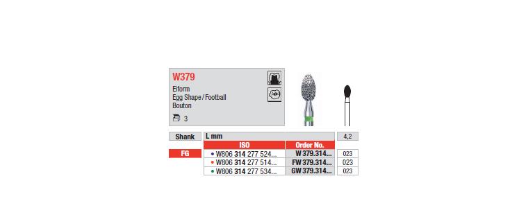 W379 - Ovoïde