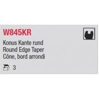 W845KR - Cône, bord arrondi