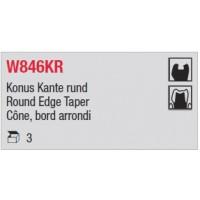 W846KR - Cône, bord arrondi