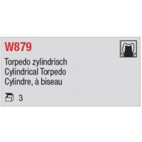 W879 - Cylindre, à biseau