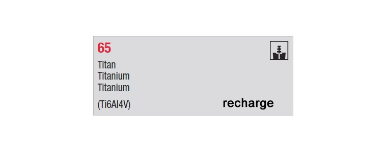 65 - recharges