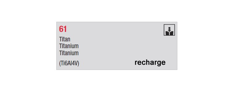 61 - recharges