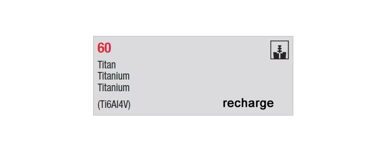 60 - recharges