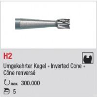 H2 - cône renversé