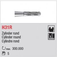 H31R - denture croisée bout rond
