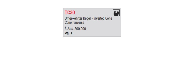 TC30 - cône renversé