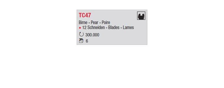 TC47 - poire standard