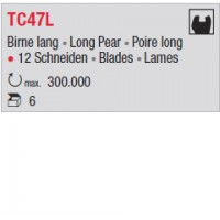 TC47L - poire long