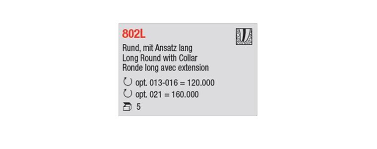 802L - ronde long avec extension