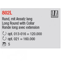 802L - ronde long avec extension