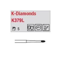 K379L - bouton avec col