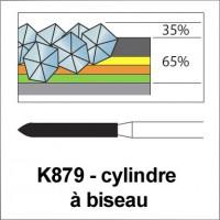 K879 - cylindre à biseau