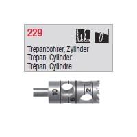 229 Trépan, cylindre