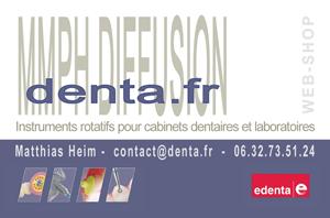 denta.fr - carte de visite - Matthias Heim